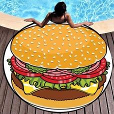 "Пляжный коврик ""Гамбургер"""
