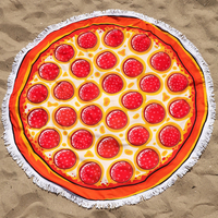 """Пляжный коврик """"Пицца"""""""
