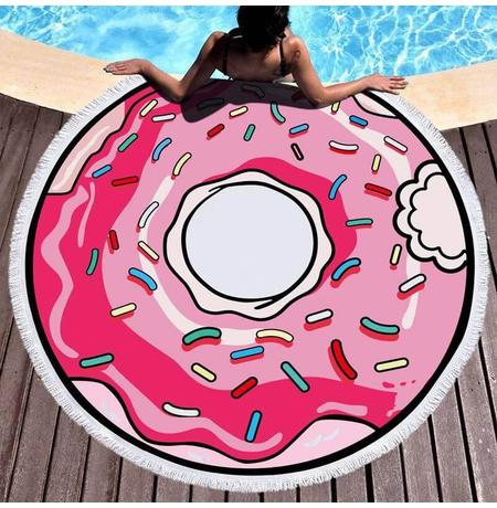 """Пляжный коврик """"Пончик"""""""