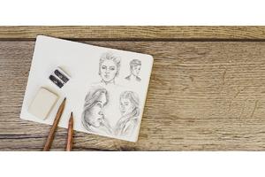 Скетчбук и дудлбук: как перестать бояться рисунка и начать творить