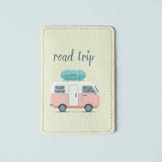 """Обложка на пластиковый ID-паспорт """"Road trip"""""""