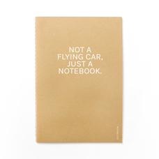 "Блокнот ""Not a flying car"""