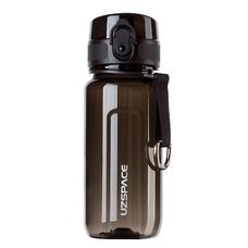 Спортивная бутылка Uzspace Twisted 350 мл, черняя