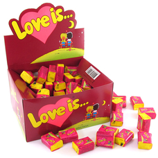 "Жвачки ""Love is"" вишня-лимон"