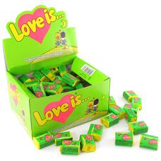 """Жвачки """"Love is"""" яблоко-лимон"""