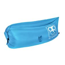 Надувной лежак Air People, голубой