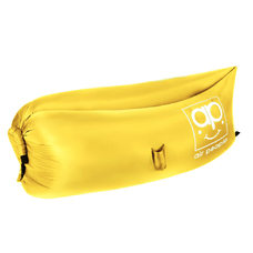 Надувной лежак Air People, жёлтый