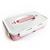 Ланч-бокс Simple (биопластик), розовый