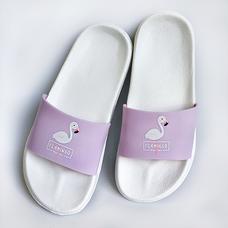 Шлепанцы Lilac Flamingo, белые