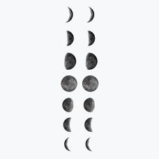 """Временная тату """"Moon"""""""