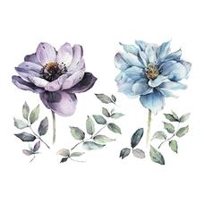 """Сет временных тату """"Летние цветы"""""""