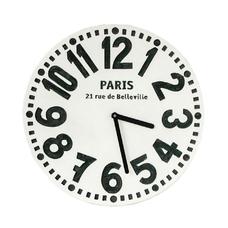"""Настенные часы """"Париж"""", белый"""