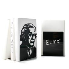 """Упоры/держатели для книг """"Теория относительности"""""""