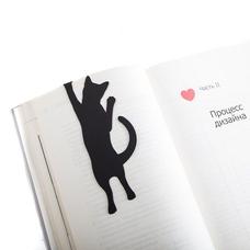 """Закладка для книг """"Любопытный кот"""""""