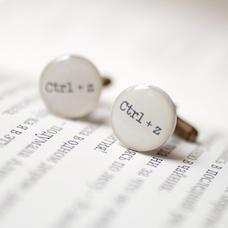 """Запонки """"Ctrl + Z"""""""