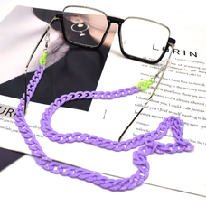 Цепочка для очков, фиолетовая