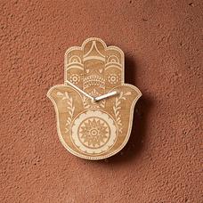 """Деревянные часы """"Хамса"""""""