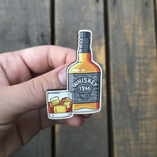 "Значок ""Виски"""