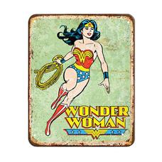 "Металлическая табличка ""Super woman"""