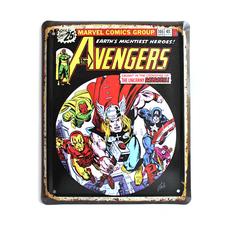 "Металлическая табличка ""Marvel. Avengers"""