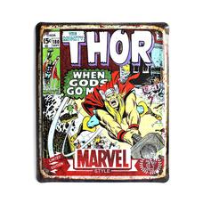 """Металлическая табличка """"Marvel. Thor"""""""