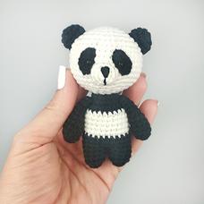 """Игрушка из пряжи """"Панда"""""""