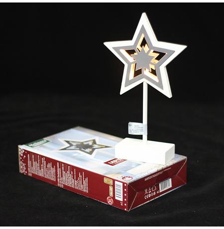 "Декоративная фигурка ""Звездочка"" с LED-подсветкой"