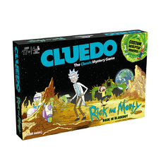 "Настольная игра ""Cluedo. Rick and Morty"", англ."