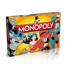 """Настольная игра """"Монополия. DC Comics"""", англ."""