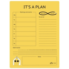 "Магнитный планер ""It's a plan"""