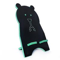 """Подставка для смартфона """"Чёрный медведь"""", бирюзовый"""