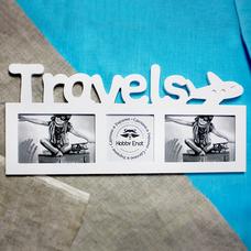 "Мультирамка ""Travels. Fly"""