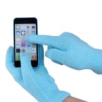 """Перчатки для сенсорных экранов """"iGlove"""", голубой"""