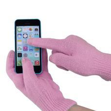 """Перчатки для сенсорных экранов """"iGlove"""" (розовый), уценка"""