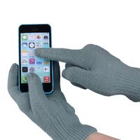 """Перчатки для сенсорных экранов """"iGlove"""", серый"""