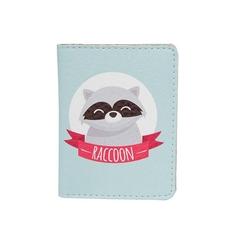 """Обложка на ID-паспорт """"Енот и лис"""""""