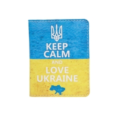 """Обложка на ID-паспорт """"Keep calm"""""""