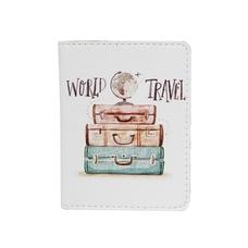 """Обложка на ID-паспорт """"World travel"""""""