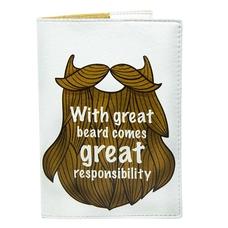 """Обложка на паспорт """"Борода"""""""