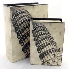 """Книга-шкатулка на магните """"Пизанская башня"""""""