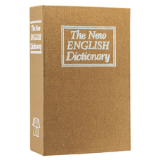 "Книга-сейф ""New English Dictionary"", коричневый"