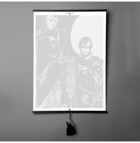 "Картина-книга Johann Wolfgang von Goethe ""Faust"""