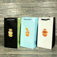 """Подарочный пакет """"Fruit slash"""" 23,8x12x10 см"""