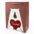 "Подарочный пакет ""Teddy-Bear"" (red heart) 32x26x12 см"