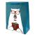 """Подарочный пакет """"Teddy-Bear"""" (blue) 32x26x12 см"""