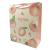 """Подарочный пакет """"Berries"""" (peach) 23x18x10 см"""