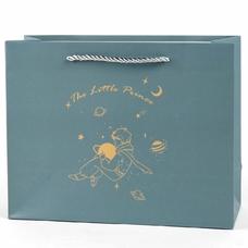 """Подарочный пакет """"The Little Prince"""" (dark blue) 25,5х20х9,5 см"""