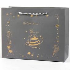 """Подарочный пакет """"The Little Prince"""" (brown) 25,5х20х9,5 см"""