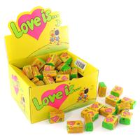 """Жвачки """"Love is"""" кокос-ананас"""
