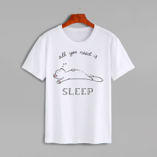 """Футболка """"All you need is sleep"""""""